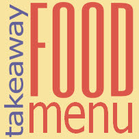 Print off our takeway food menu